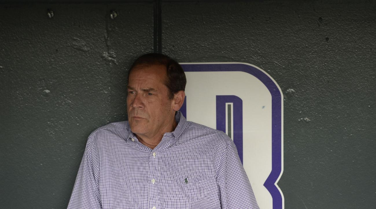 Colorado Rockies owner Dick Monfort criticized Denver's baseball fanbase