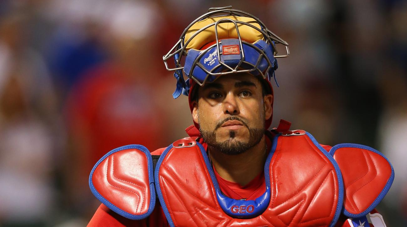 Rangers catcher Geovany Soto was arrested on a misdemeanor marijuana charge Thursday night