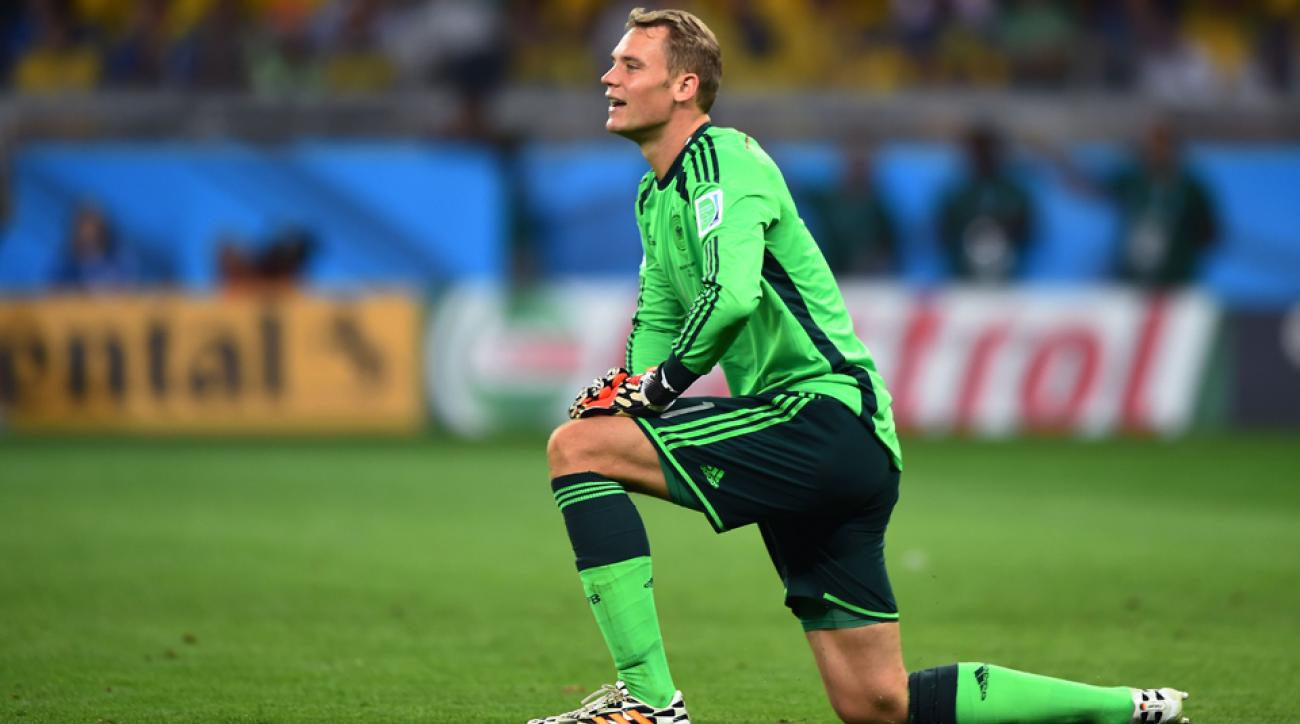 manuel neuer world cup golden glove award finalist