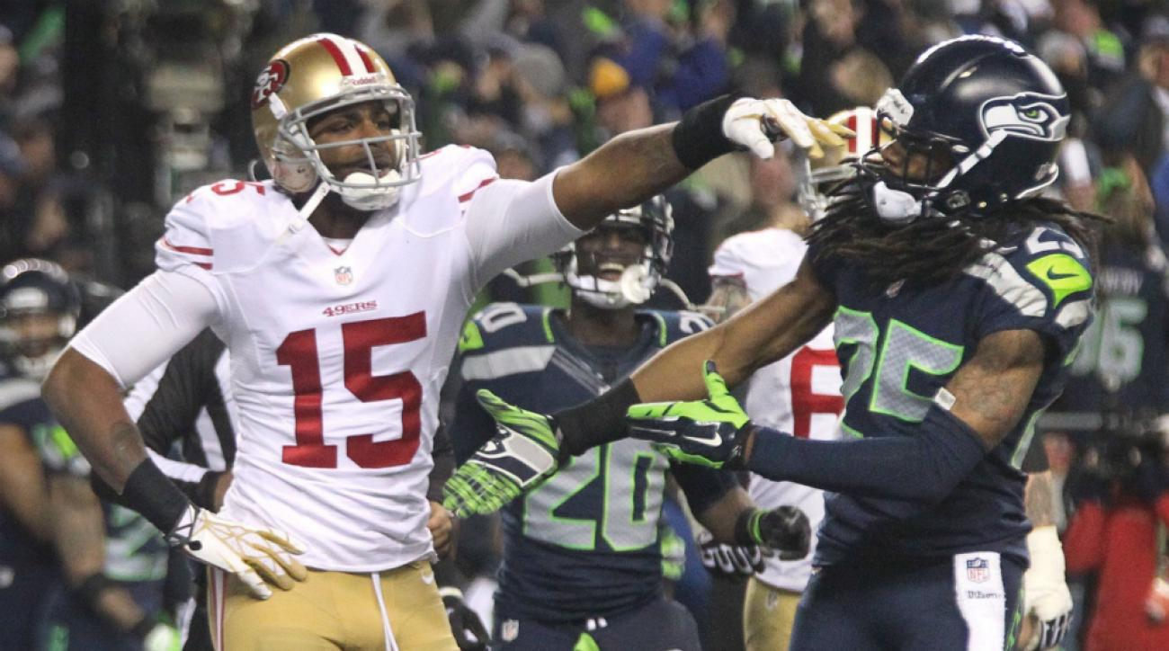 Seahawks' Richard Sherman is done discussing 49ers' Michael Crabtree