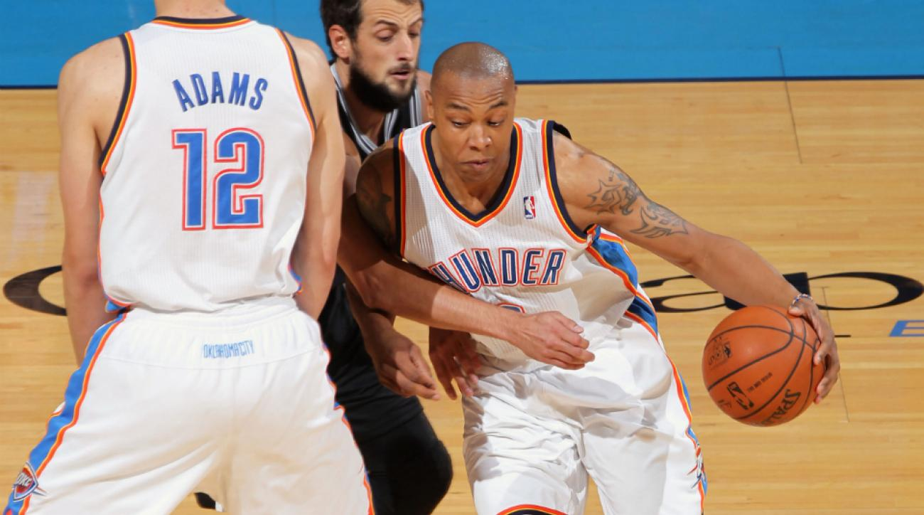 Caron Butler shot 44.1 percent from 3-point range with the Thunder last season.
