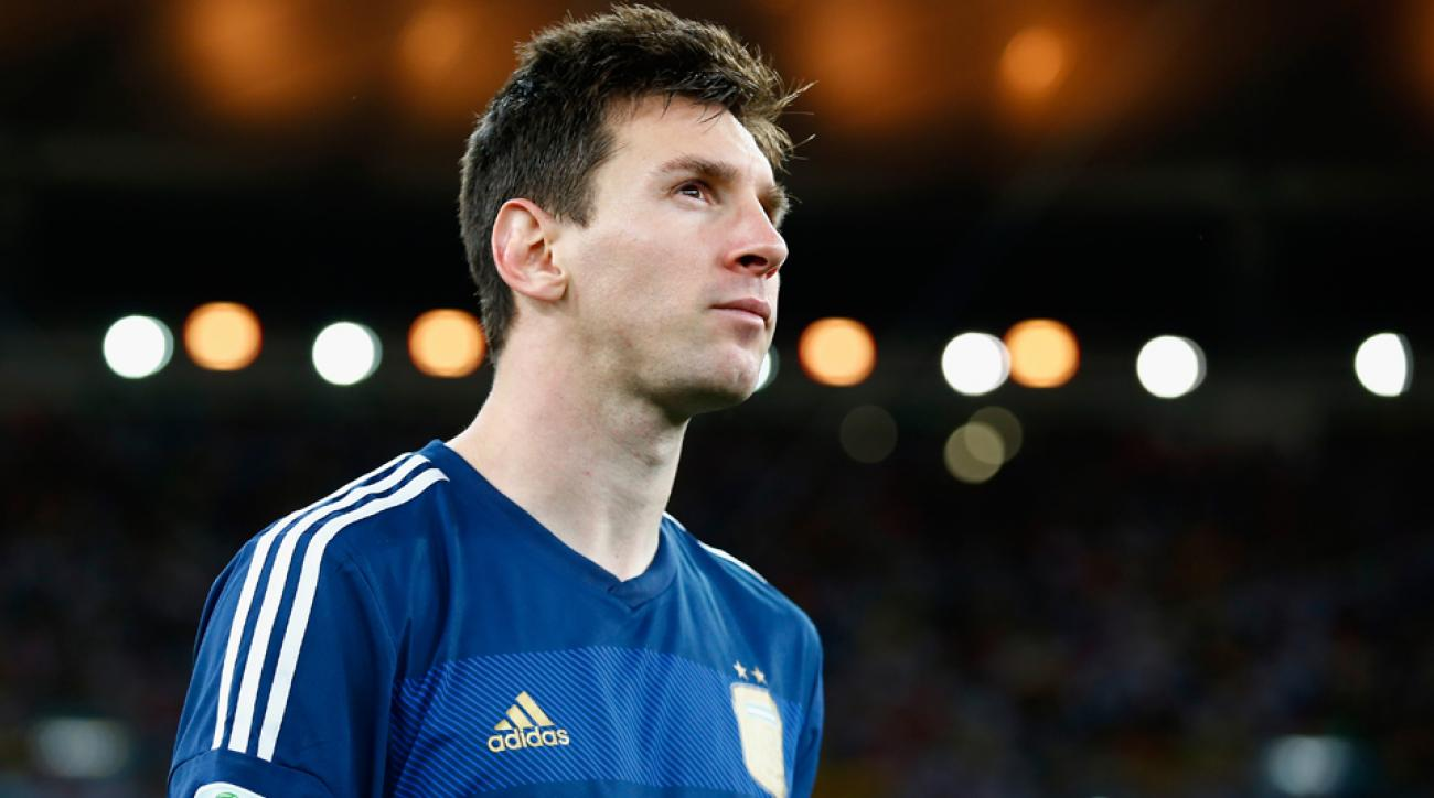 Lionel Messi was awarded the Golden Ball as the World Cup's best individual player.
