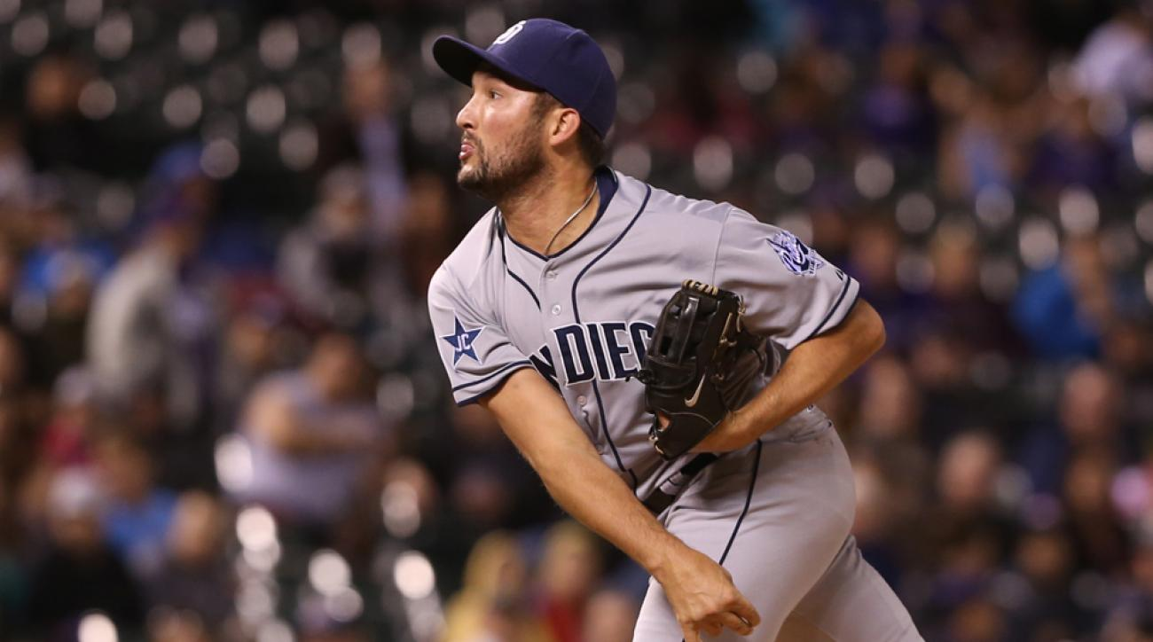 Padres closer Huston Street could be on the trading block.
