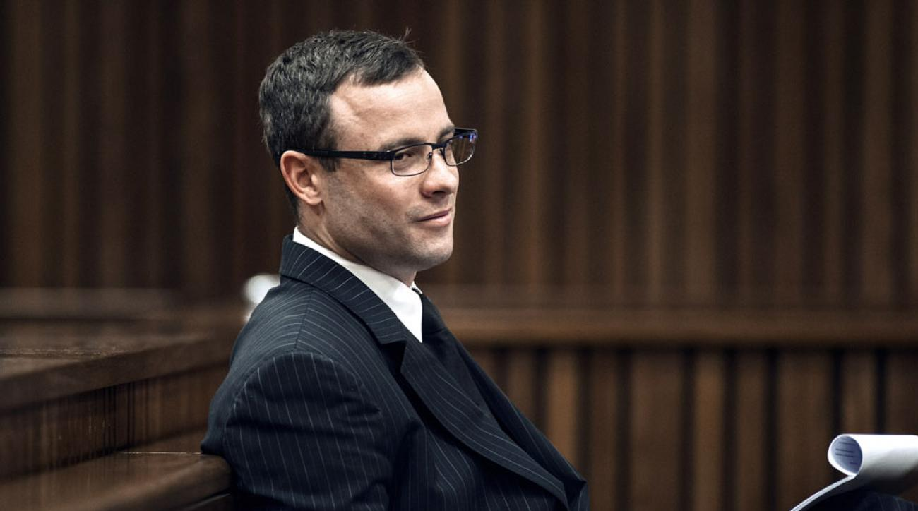 Oscar Pistorius was in a bar argument in South Africa
