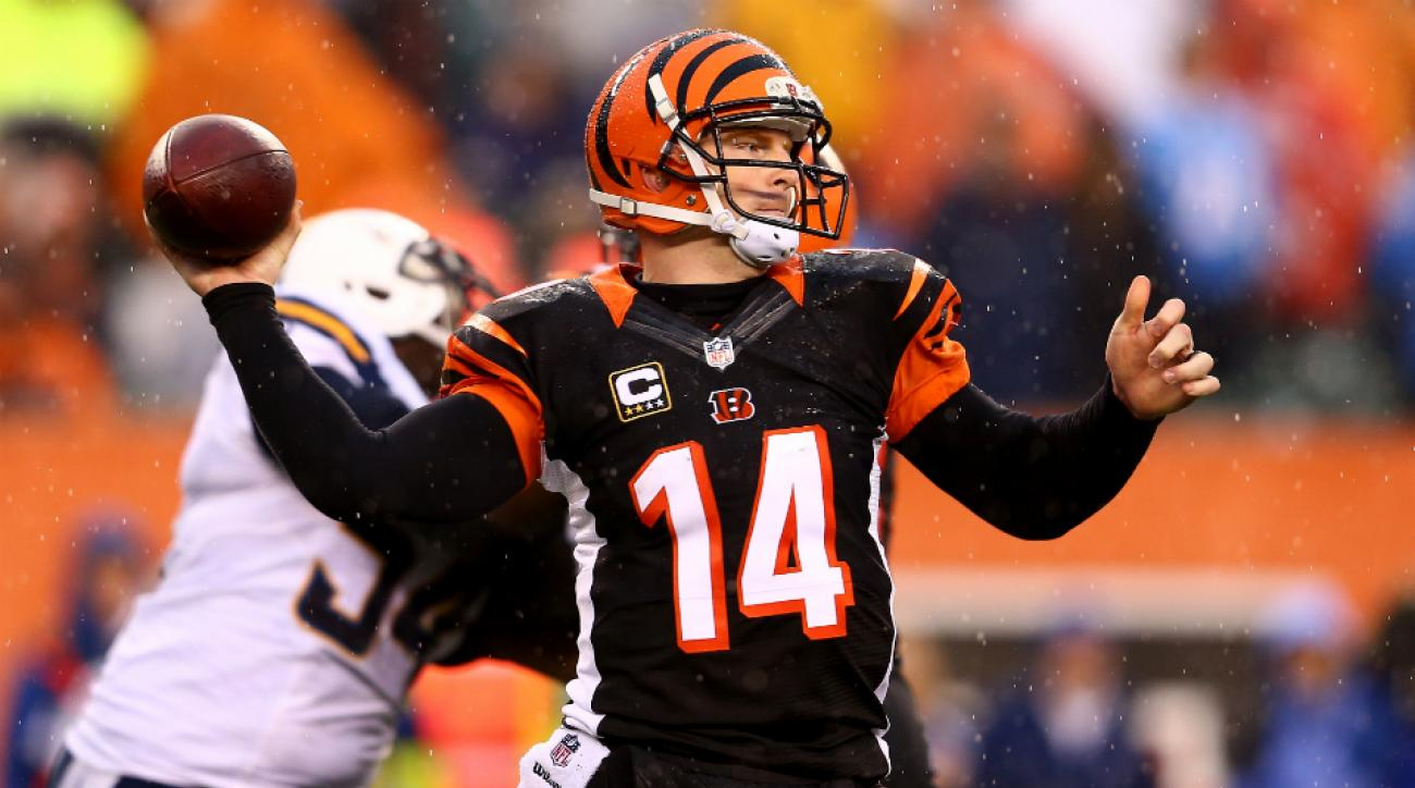 Bengals QB Andy Dalton looks to finally win a playoff game