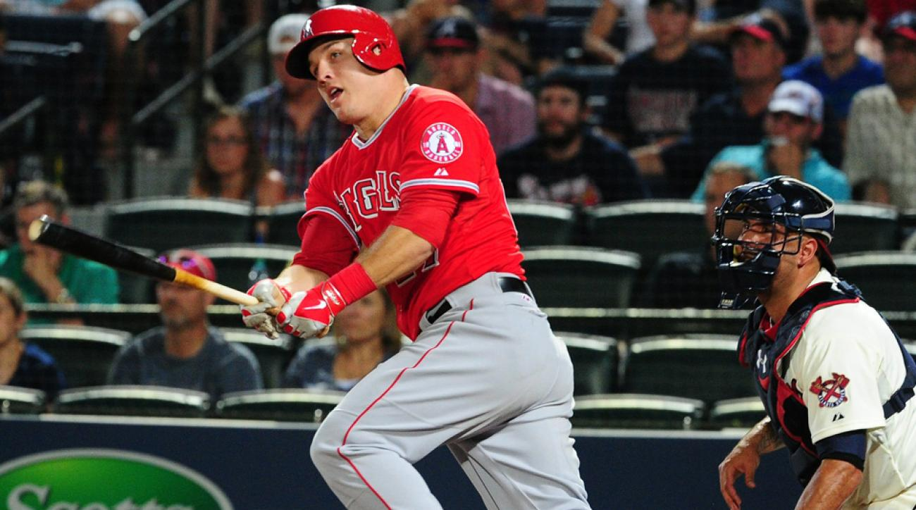 Mike Trout will start for the American League in leftfield and bat second behind Derek Jeter in his third All-Star Game appearance.