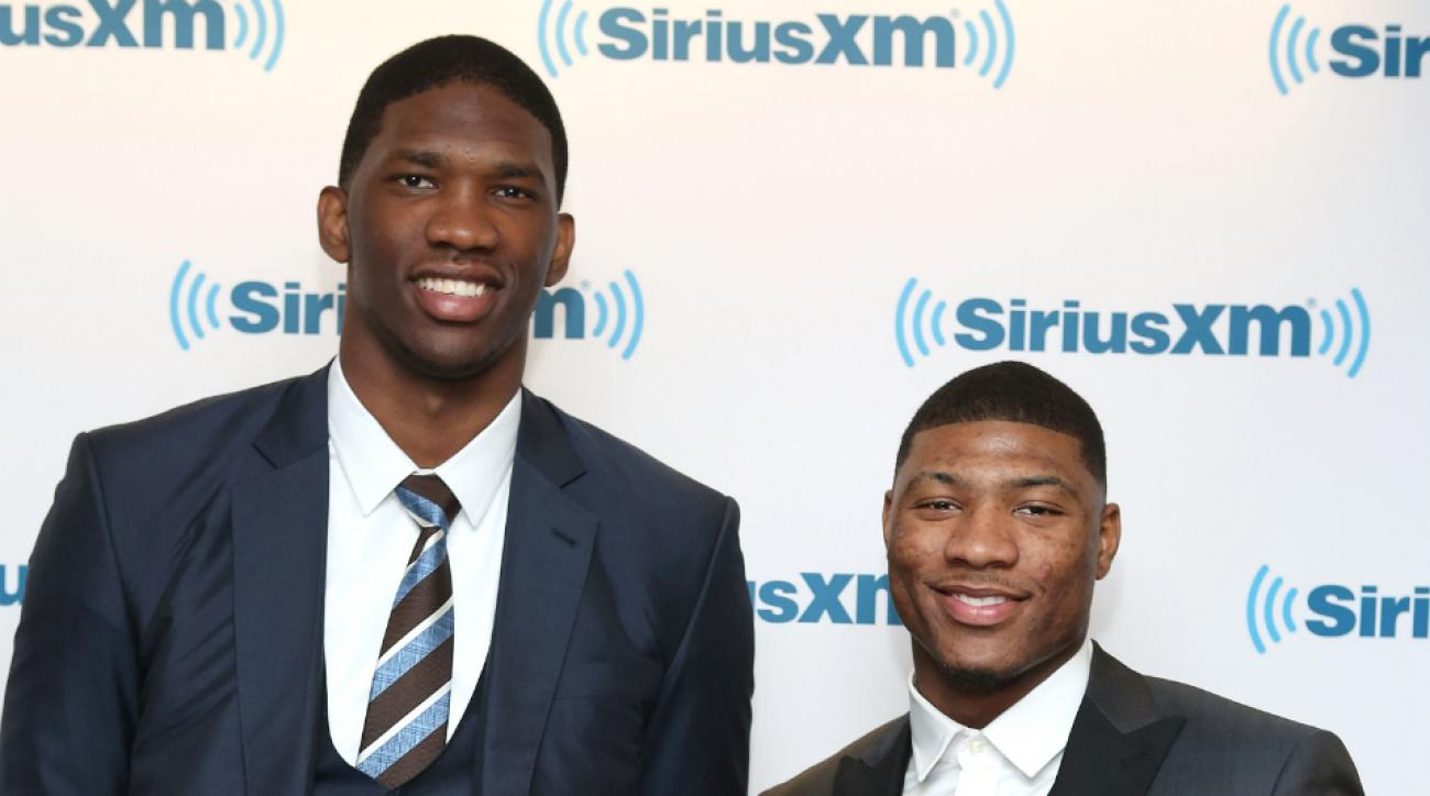 76ers' Joel Embiid and Celtics' Marcus Smart sign with adidas