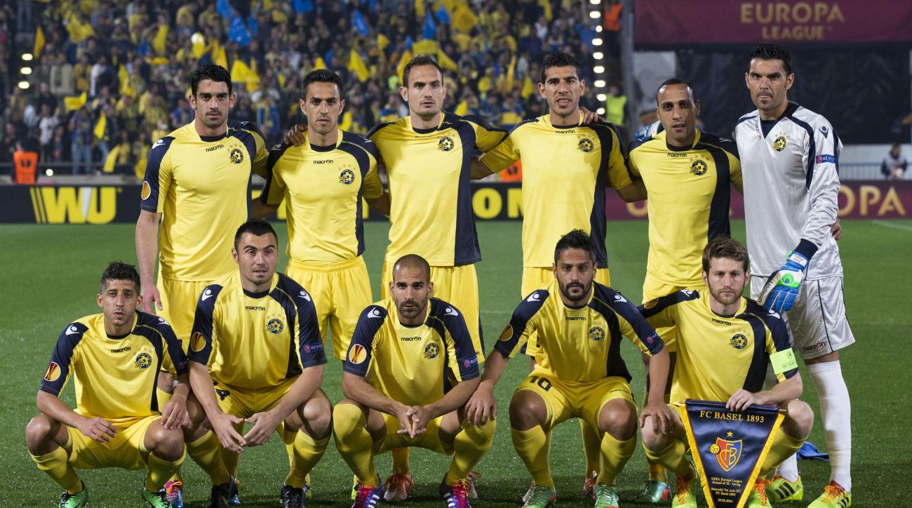 Maccabi Tel-Aviv Santa Coloma Israel champions league