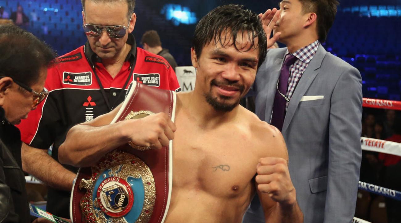 Manny Pacquiao vs Chris Algieri set for Nov. 22