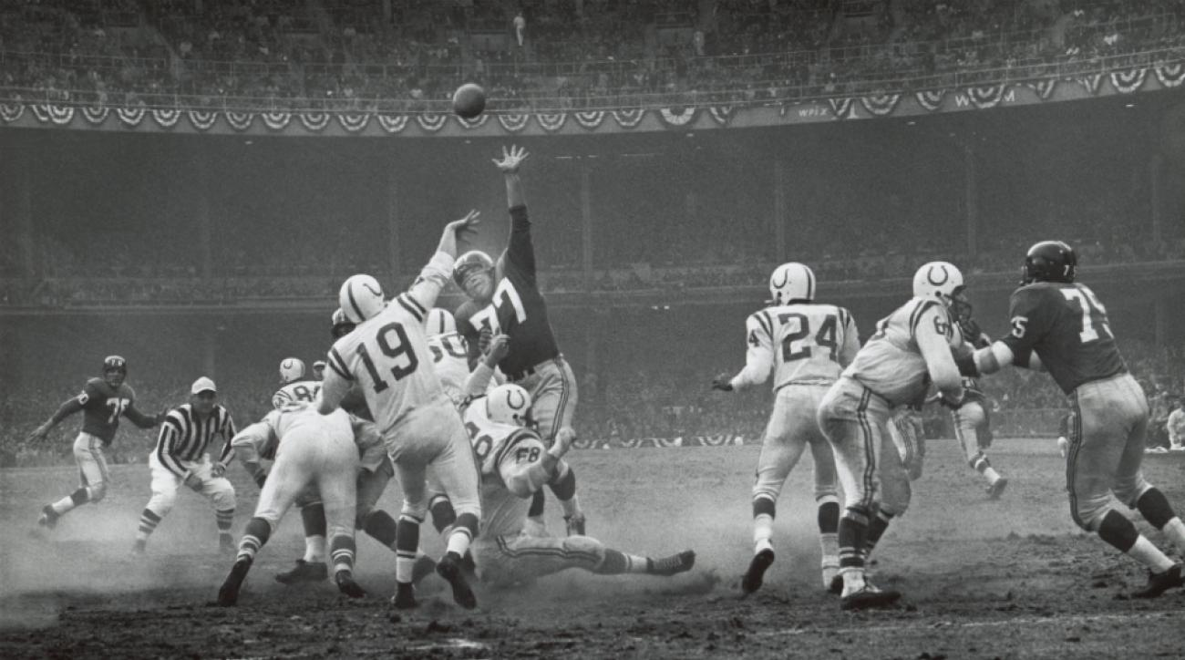 Giants-Colts classic is being made into a movie