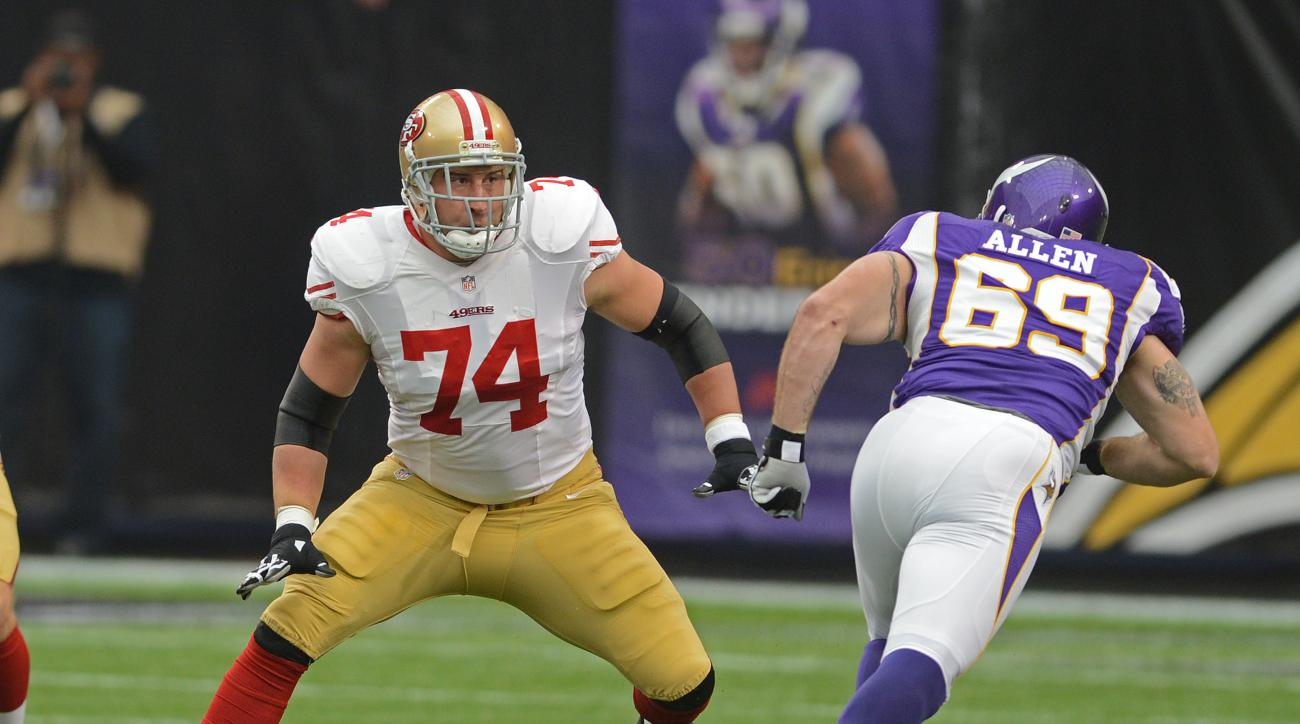 The San Francisco 49ers extended left tackle Joe Staley through 2019