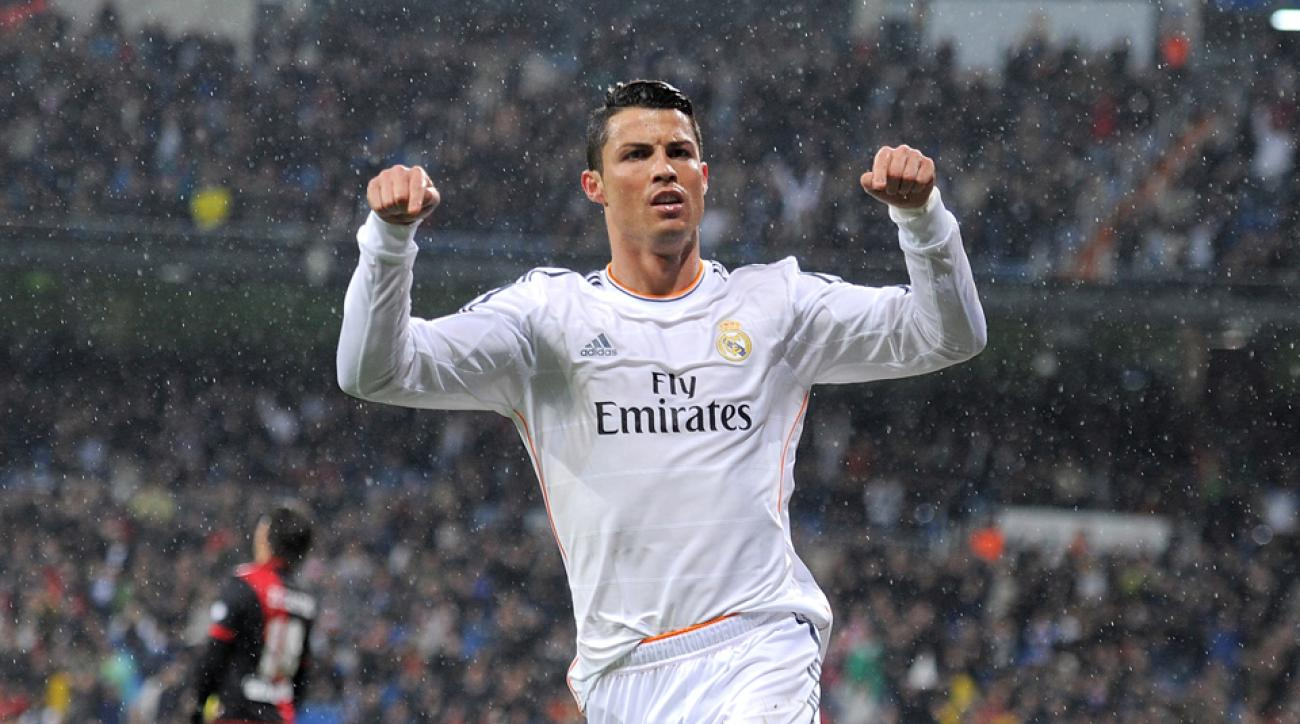 Cristiano Ronaldo Real Madrid EUFA Best Player in Europe