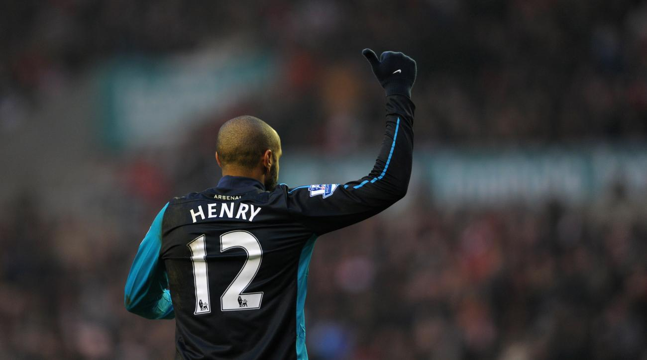 Thierry Henry arsenal new york red bulls