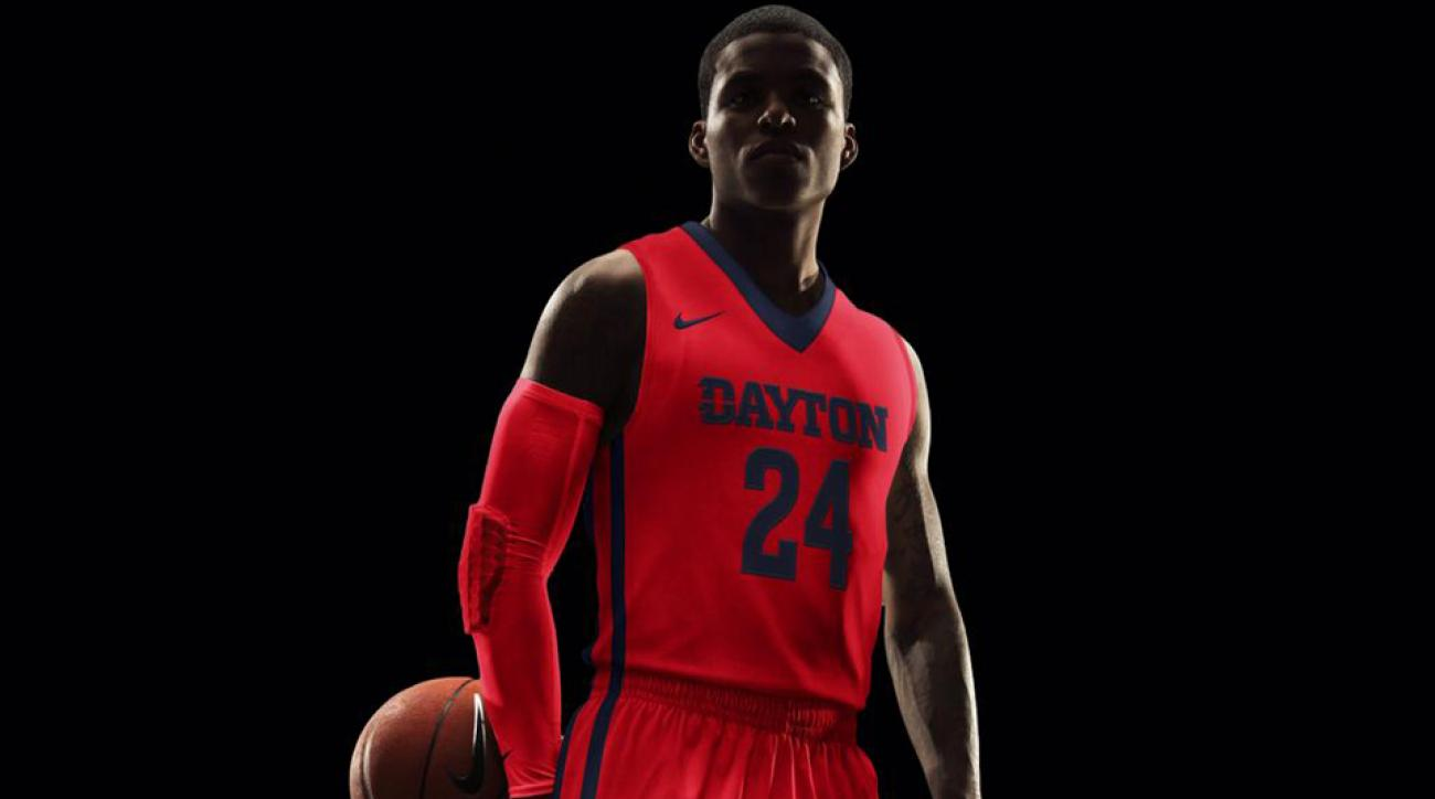 dayton flyers new basketball jersey