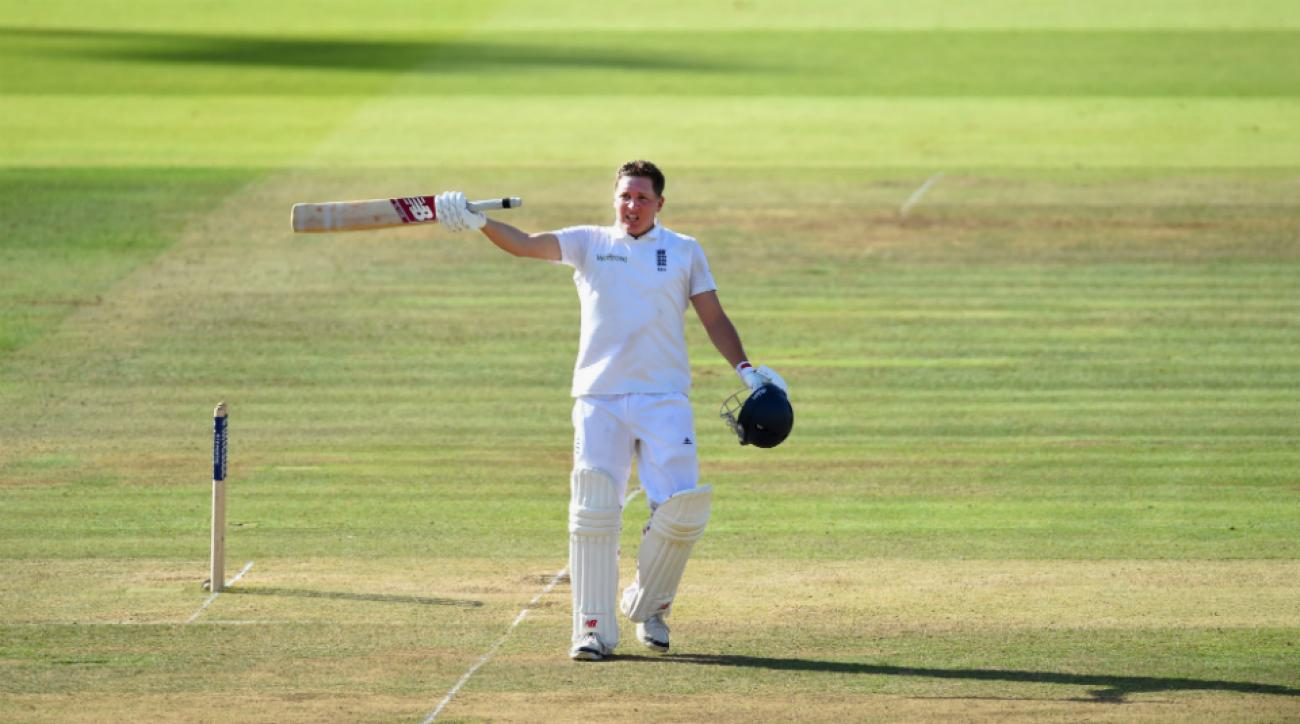 England' Gary Ballance recorded second straight Lord's century