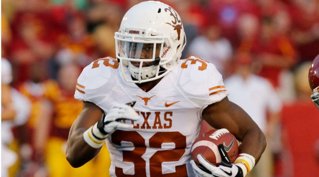 Texas RB Johnathan Gray cleared for workouts