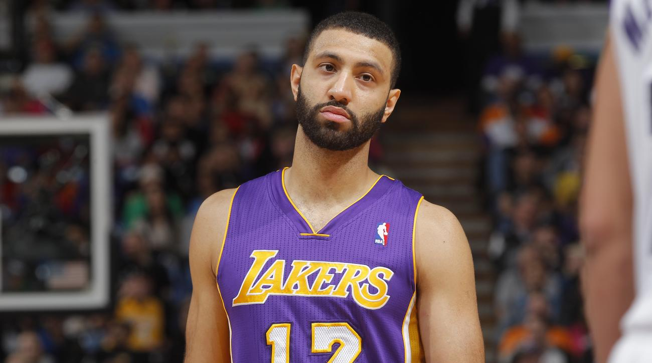 The Los Angeles Lakers released point guard Kendall Marshall