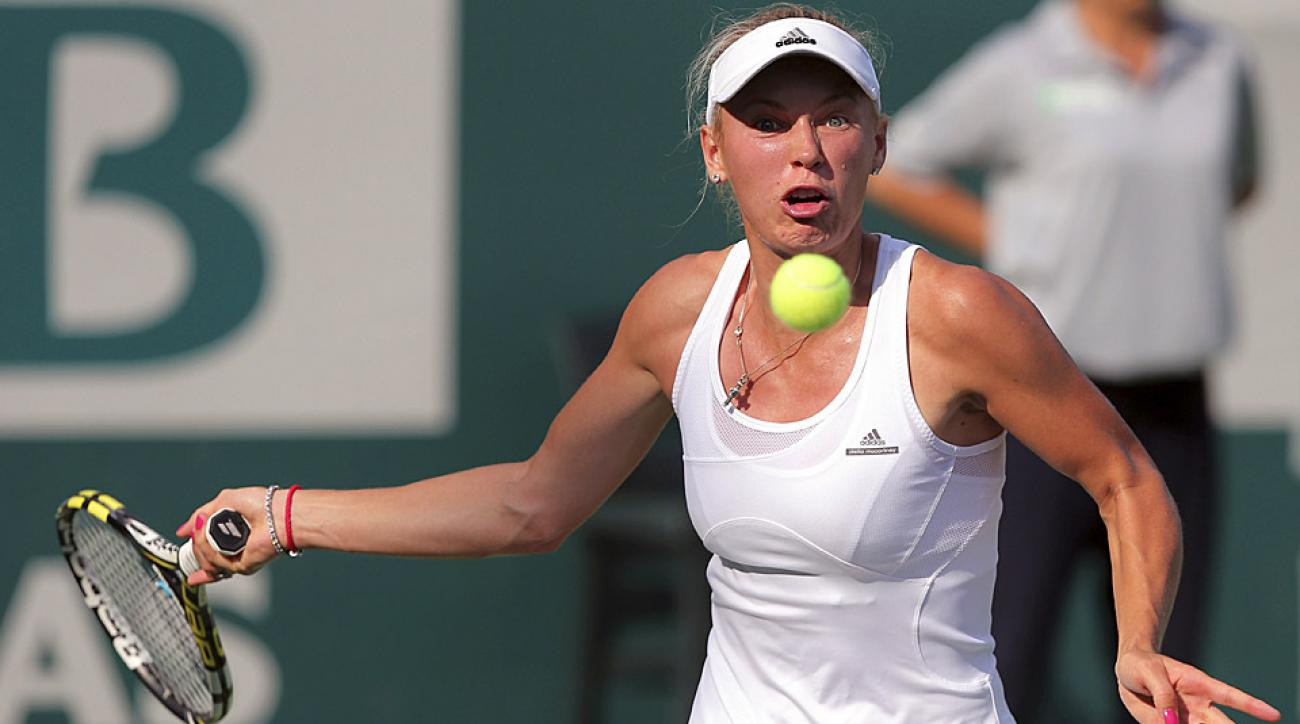 Caroline Wozniacki won her 22nd career title Sunday in Istanbul after defeating Italy's Roberta Vinci.