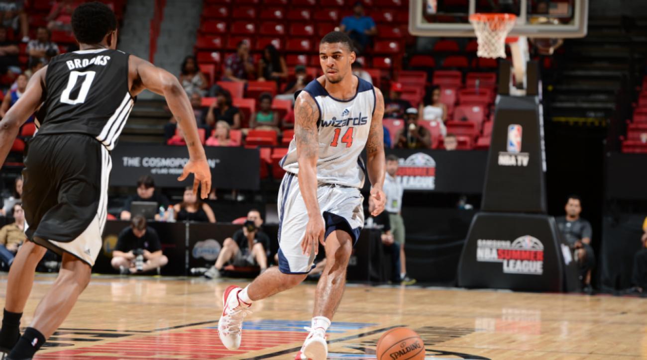Wizards' Glen Rice Jr. named Summer League MVP