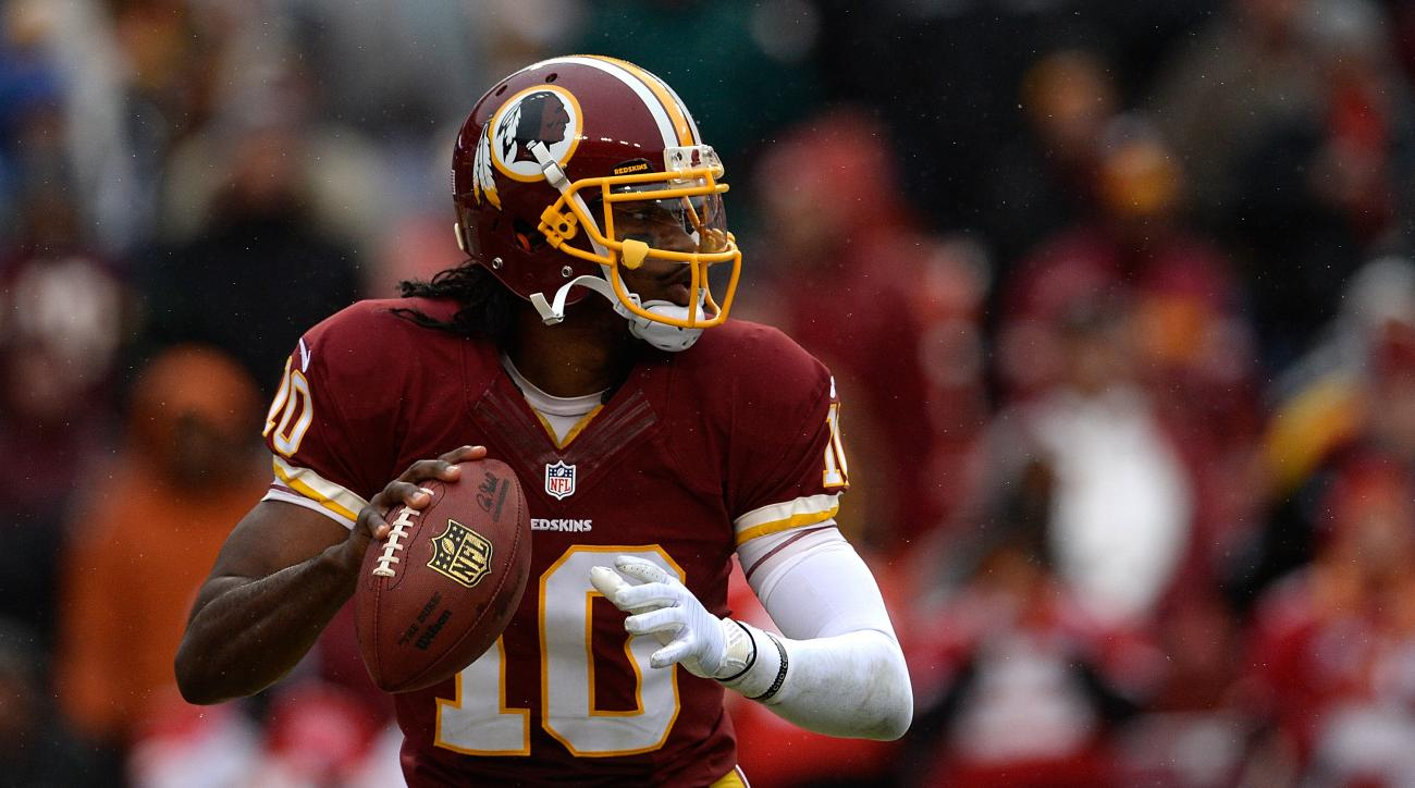 Robert Griffin III is not concerning about spreading the ball around to his receivers