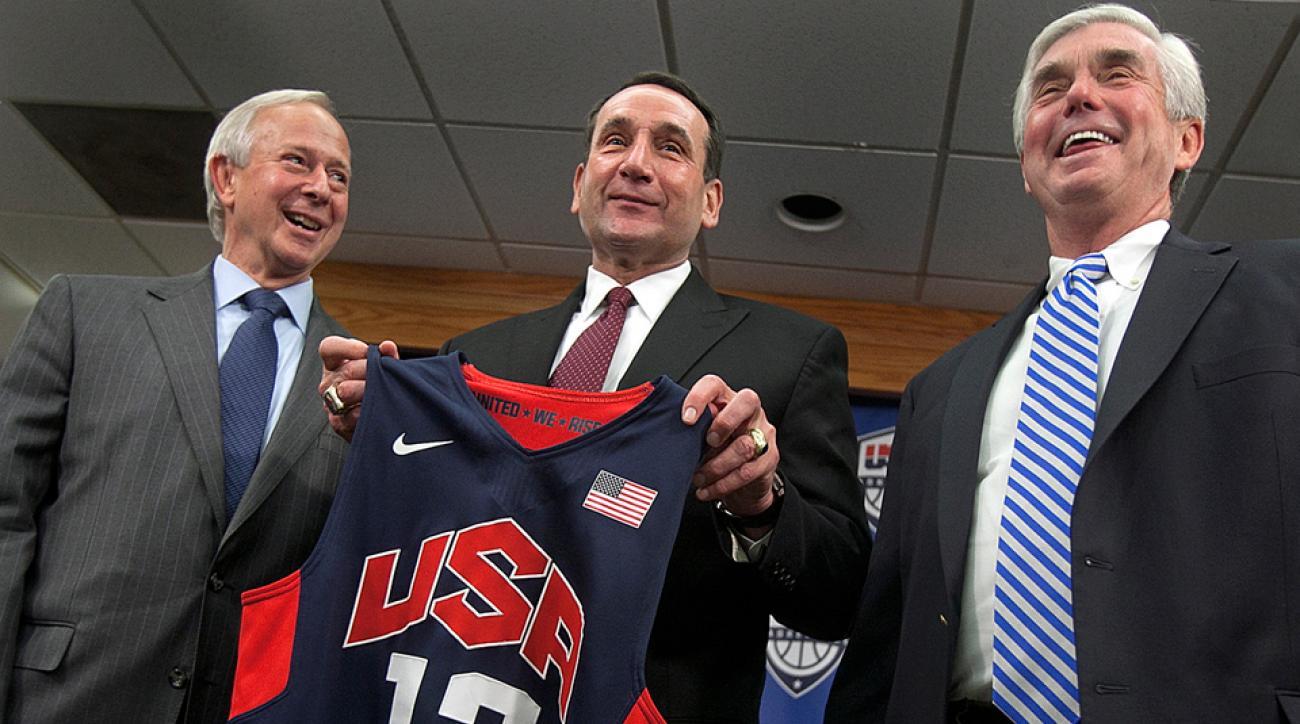 USA Basketball select team 2014