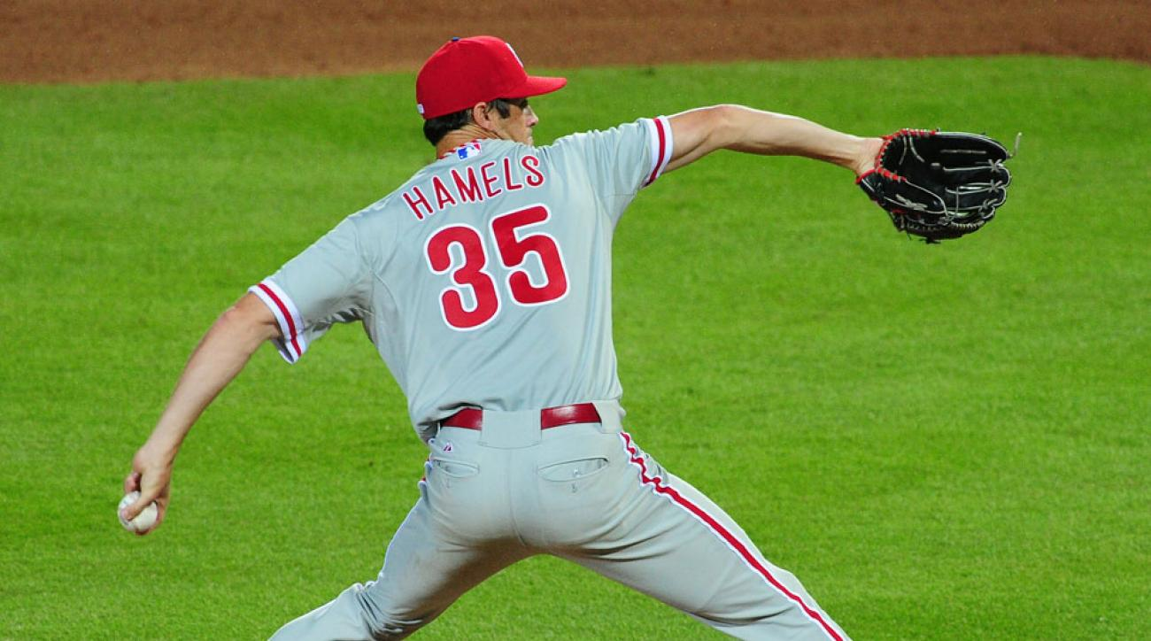 Phillies say Cole Hamels not available