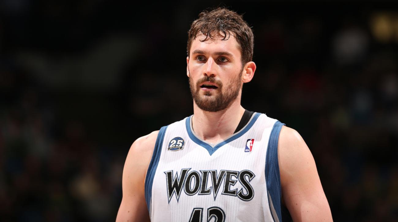 The Timberwolves could be on the verge of trading Kevin Love