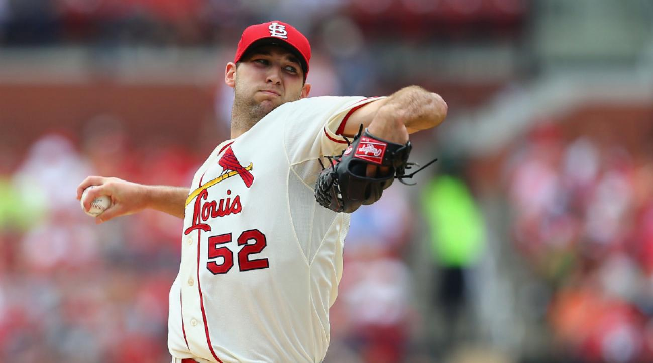 Cardinals pitcher Michael Wacha on track for September return