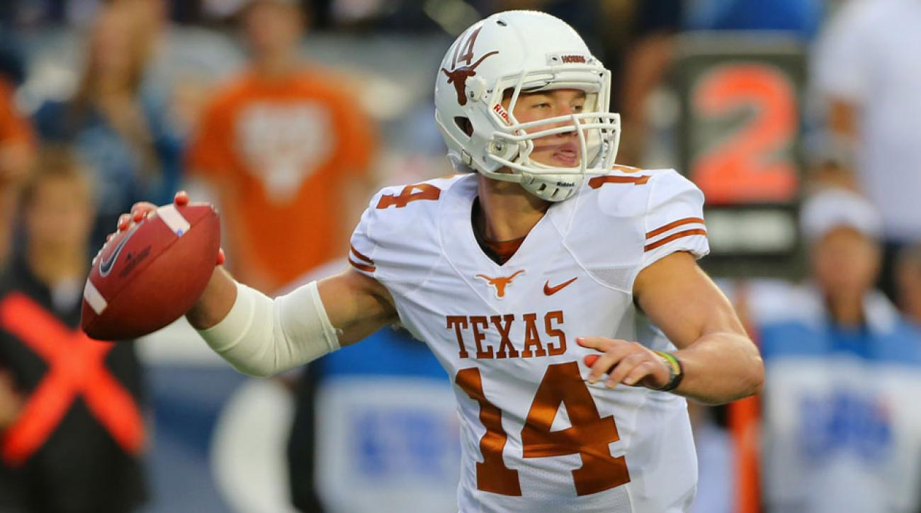 Texas coach Charlie Strong names David Ash the starting quarterback