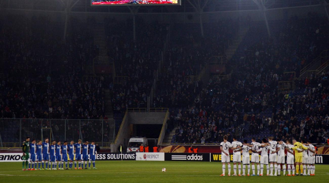 Champions League game moved out of eastern Ukraine