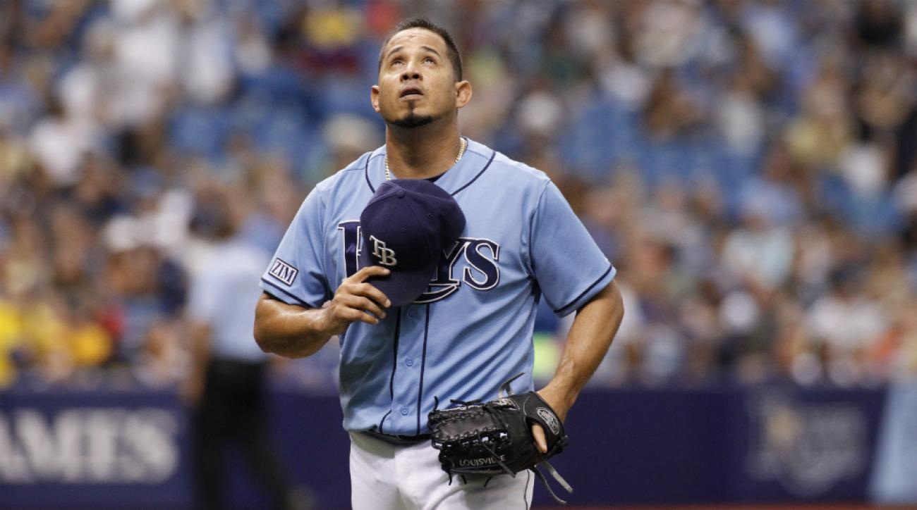 Rays pitcher Joel Peralta may have chikungunya virus