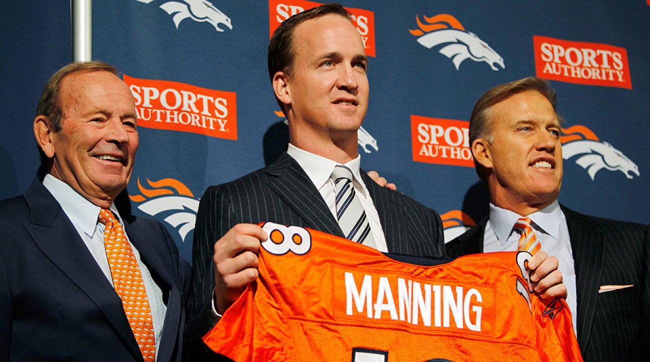 Under Pat Bowlen (left), the Broncos won six AFC titles and two Super Bowls.