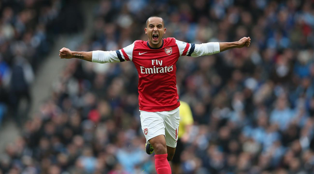 theo walcott arsenal epl premier league matches movie theaters