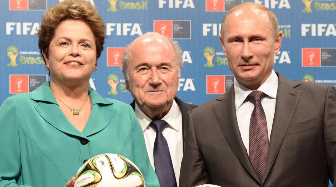 FIFA says it will not move 2018 World Cup from Russia