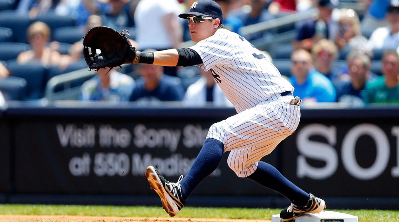 yankees kelly johnson disabled list groin strain