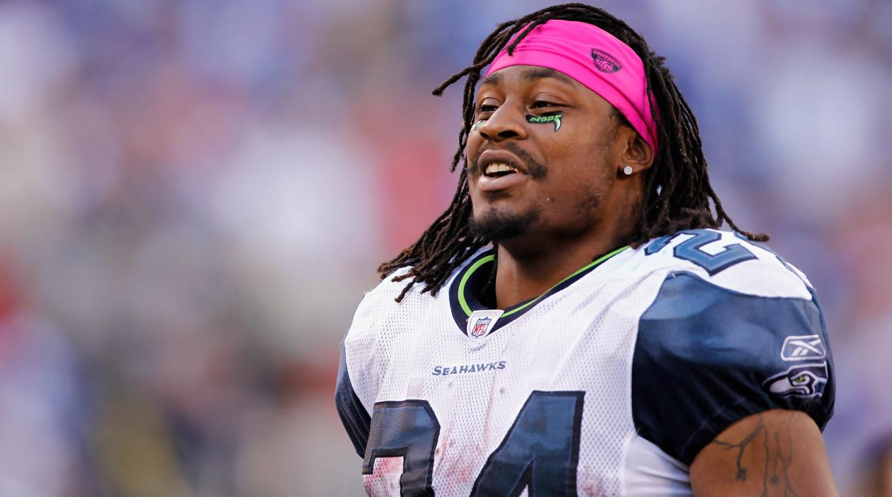 marshawn lynch seattle seahawks training camp holdout
