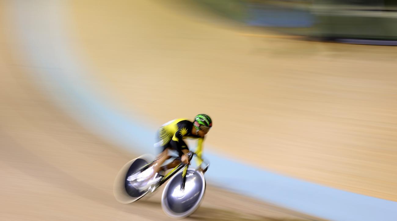 Azizulhasni Awang Malaysian cyclist Commonwealth Games