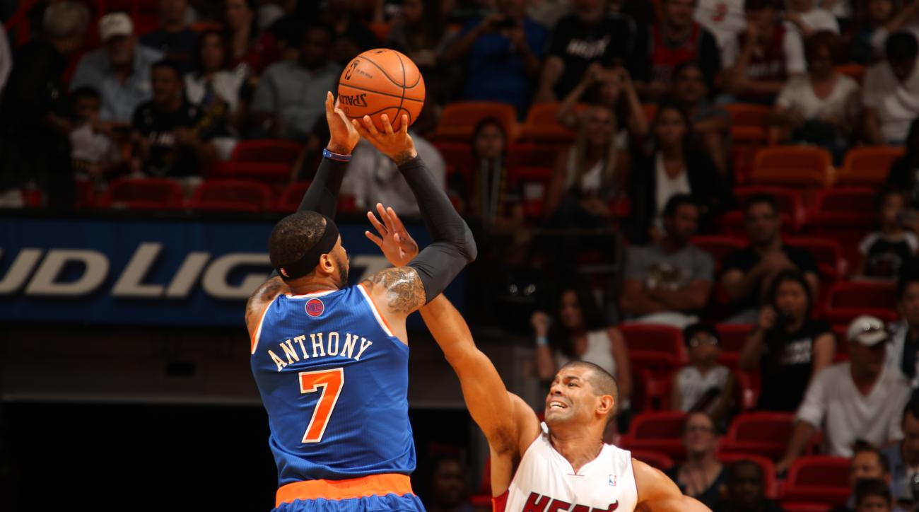 Carmelo Anthony believes Knicks aren't far from being contenders