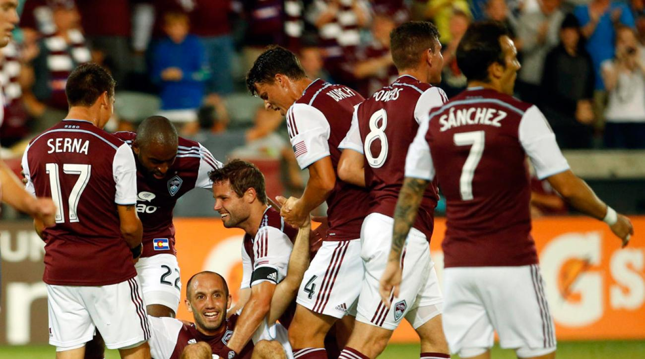 Nick LaBrocca, Drew Moor and Gabriel Torres all scored as the Colorado Rapids dominated Chivas USA throughout in a 3-0 shutout win.