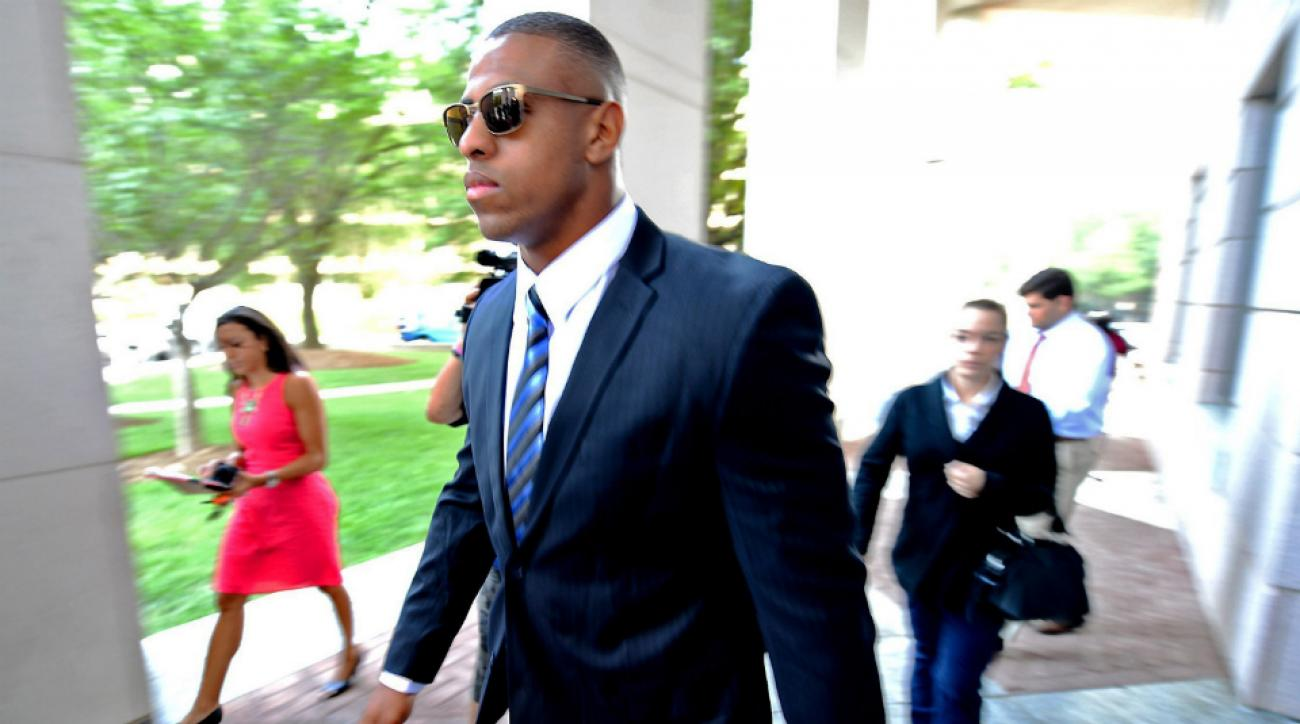 Panthers won't discipline Hardy until after trial
