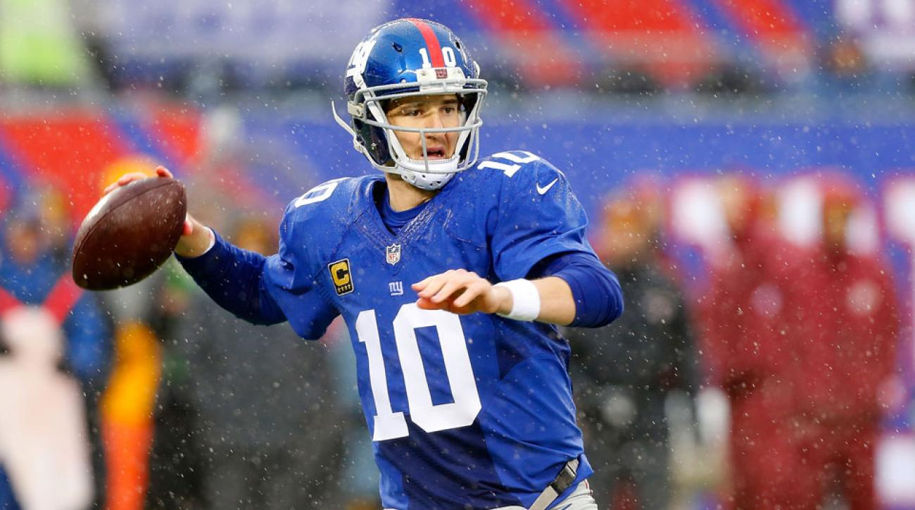 Giants QB coach challenges Eli Manning to complete 70 percent of passes