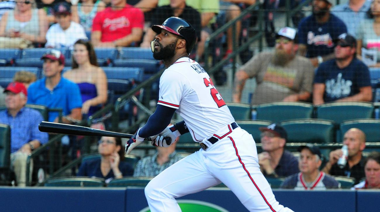 Atlanta Braves outfielder Jason Heyward day-to-day with lower back soreness