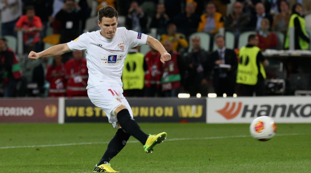 Sevilla attacker Kevin Gameiro