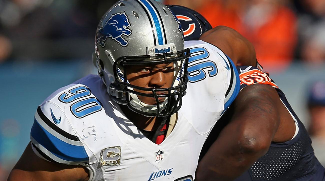 Lions table talks with Ndamukong Suh until end of season