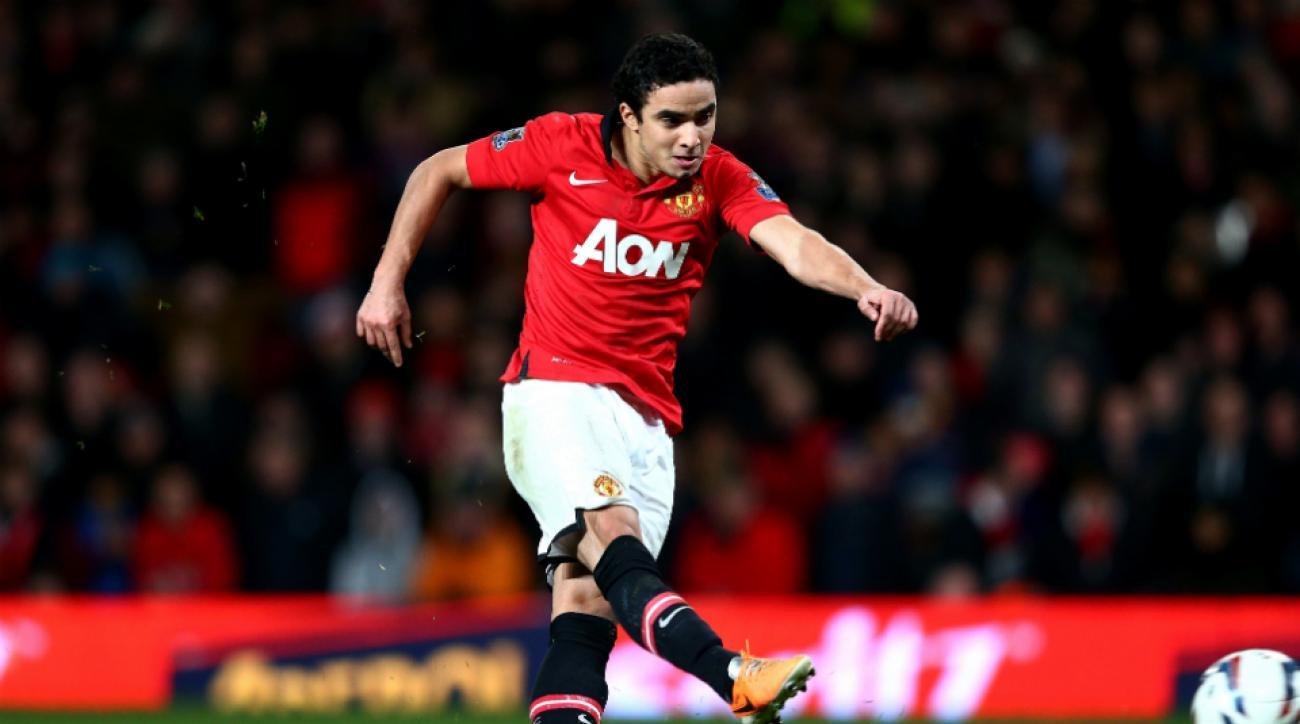 Manchester United's Rafael leaves U.S. tour
