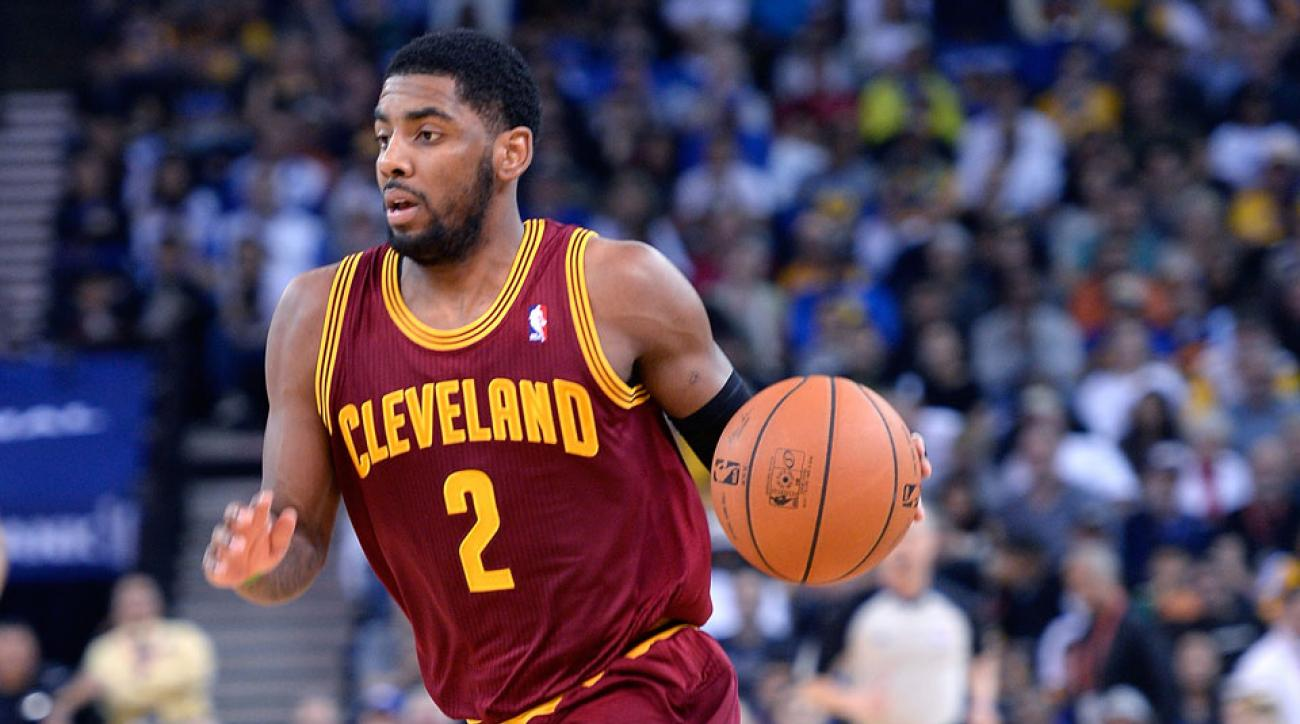 Kyrie Irving Cleveland Cavaliers leadership