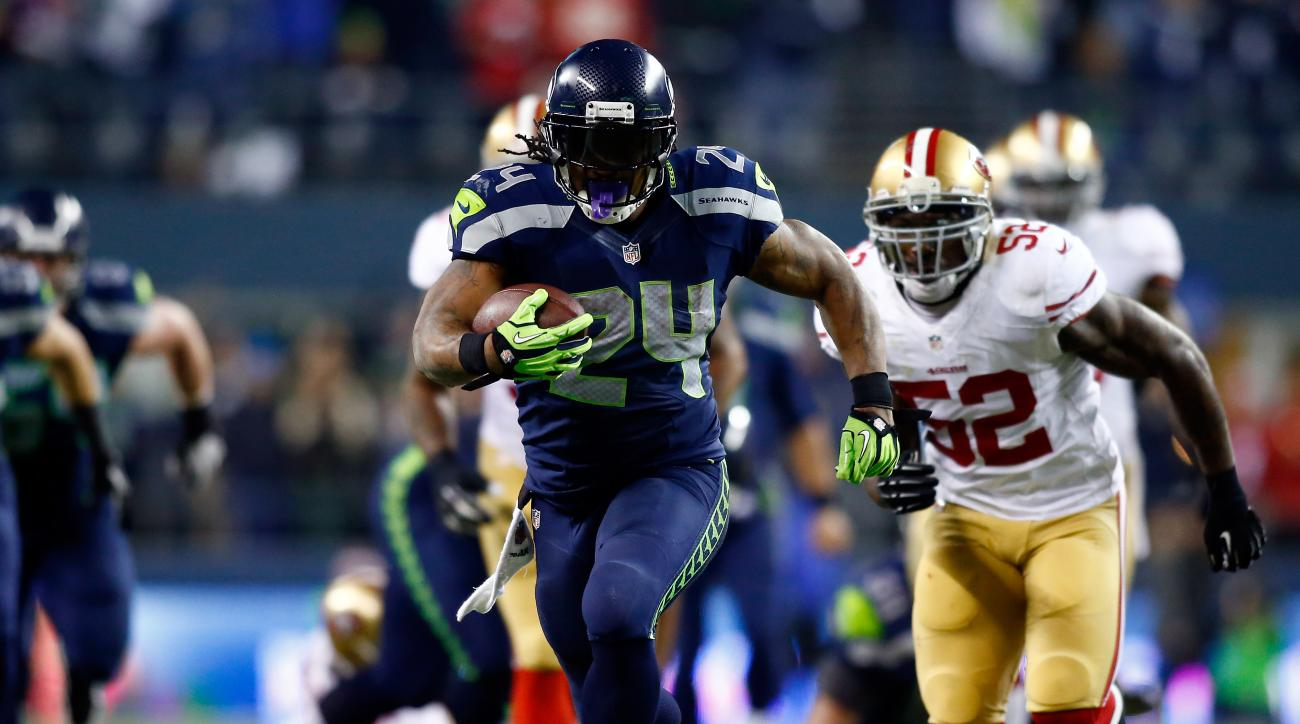 Marshawn Lynch triggered a $275,000 fine by holding out from Seattle Seahawks training camp