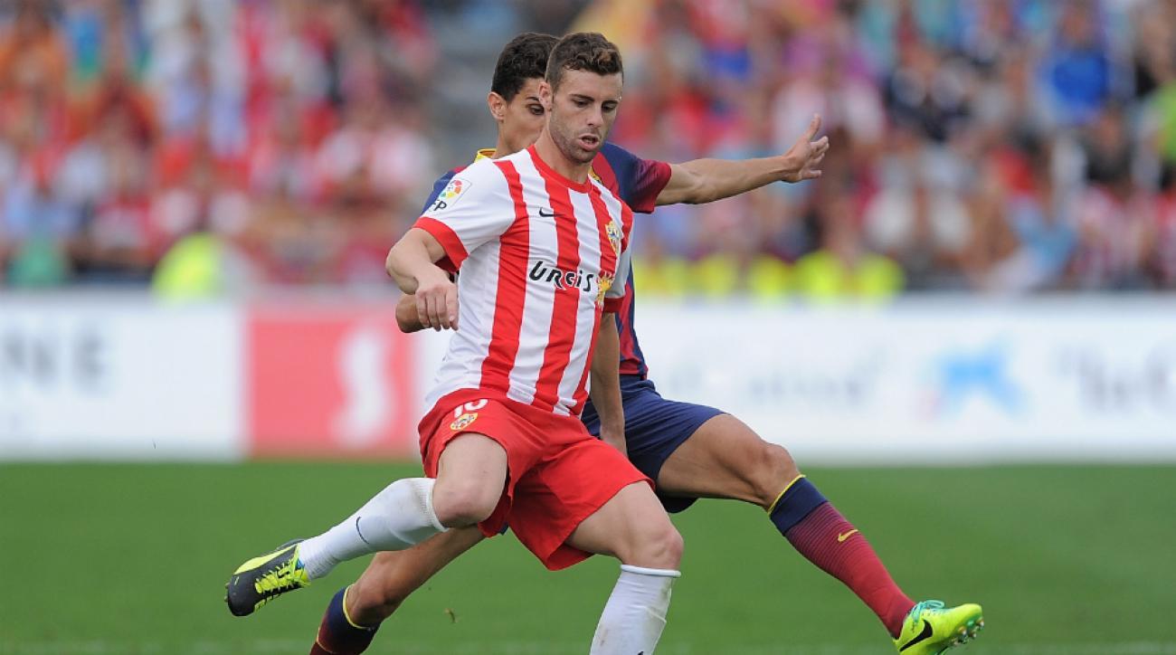 Almeria forward Rodri