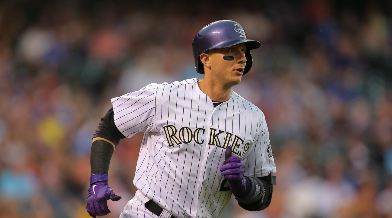 Colorado Rockies shortstop Troy Tulowitzki underwent needling therapy for his injured hip flexor.