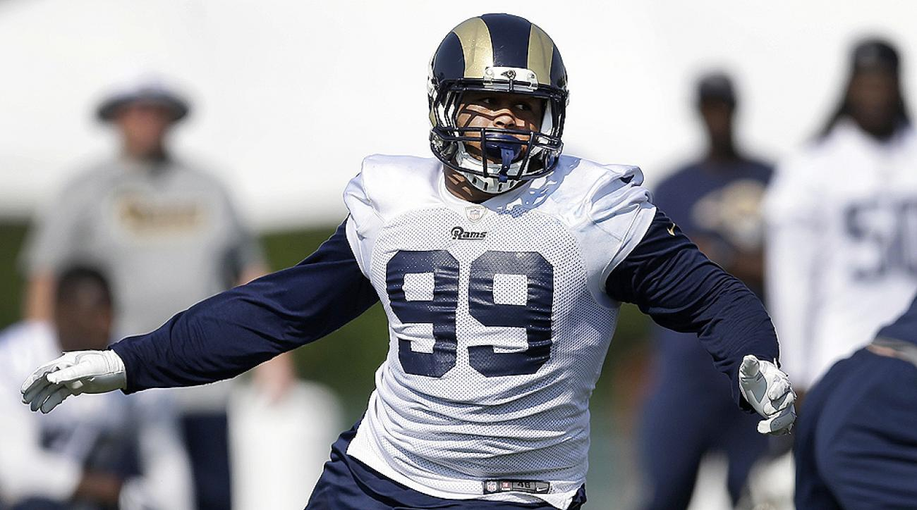 Aaron Donald's size has not kept him from impressing both coaches and players alike at Rams training camp.
